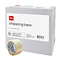 "Office Depot® Brand Multipurpose Shipping Tape, 1-7/8"" x 54.6 Yd., Clear, Box Of 36 Rolls"