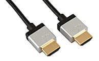 Ativa® Ultraslim HDMI™ Cable With Ethernet, 6', Black, 38477