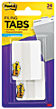 """Post-it® Notes Durable Filing Tabs, 2"""", White, Pack Of 24 Tabs"""