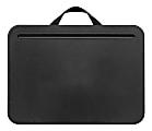 """LapGear Compact Lap Desks, 2"""" x 13-3/4"""" x 10"""", Black, Pack Of 12 Desks"""