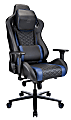RS Gaming™ Davanti Faux Leather High-Back Gaming Chair, Black/Blue
