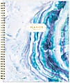 """Blue Sky™ Weekly/Monthly Planning Calendar, 8-1/2"""" x 11"""", Gemma Frosted, July 2021 To June 2022, 118177"""