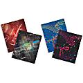 "Music Portfolio Folders, 8 1/2"" x 11"", Pack Of 4"