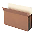 """Smead® Expanding File Pockets, 5 1/4"""" Expansion, 9 1/2"""" x 14 3/4"""", 30% Recycled, Redrope, Pack Of 10"""