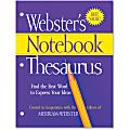 Merriam-Webster Printed Notebook Thesaurus