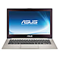 """ASUS® UX31A-R5102H Ultrabook™ Laptop Computer With 13.3"""" Screen And 3rd Gen Intel® Core™ i5 Processor With Turbo Boost Technology 2.0, Silver"""