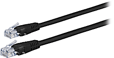 Ativa® Cat 5e Ethernet Cable, 25', Black, 26871