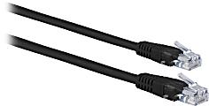 Ativa® Cat 5e Ethernet Cable, 50', Black, 26875