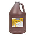 Handy Art Little Masters Washable Tempera Paint Gallon - 1 gal - 1 Each - Brown