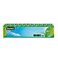 """Scotch® Magic™ Greener Invisible Tape, 3/4"""" x 900"""", Pack Of 12 Rolls"""