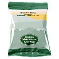 Green Mountain Coffee® Breakfast Blend Coffee, Portion Single-Serve Packets, Carton Of 100