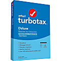 TurboTax® Desktop Deluxe Federal E-File + State 2020, For PC/Mac