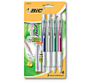 BIC® Velocity® Mechanical Pencils, 0.7 mm, Assorted Barrel Colors, Pack Of 4