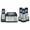 VTech® DS6151 2-Line 4 Handset DECT 6.0 Expandable Cordless Phone Bundle with Digital Answering System