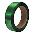 """Office Depot® Brand Smooth Polyester Strapping, 1/2"""" x 3,250', Green, Pack Of 2 Rolls"""