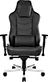 AKRacing™ Office Onyx Deluxe Ergonomic Bonded Leather High-Back Chair, Black
