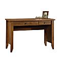 Sauder® Shoal Creek Computer Desk With Flip Down Computer Tray, Oiled Oak