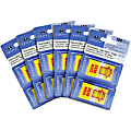 Sparco Pop-up Sign Here Flags in Dispenser - Yellow - Self-stick - 600 / Box