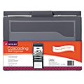 "Smead® 6-Pocket Cascading Wall Organizer, Letter Size, 36-1/4"" x 14-1/4"", Gray"