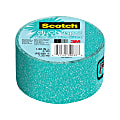 """Scotch® Expressions Duct Tape, 3"""" Core, 1.88"""" x 8 Yd., Blue Turquoise"""