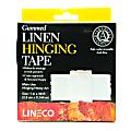 """Lineco Gummed Linen Tape, 1"""" x 360"""", White"""
