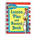 Eureka Cat In The Hat™ Lesson Plan And Record Books, Pack Of 2