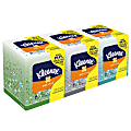 Kleenex® Boutique Antiviral 3-Ply Facial Tissues, White, 68 Tissues Per Box, Pack Of 3 Boxes