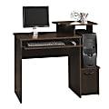 Sauder® Beginnings Computer Desk, Cinnamon Cherry