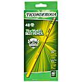 Dixon® Ticonderoga® Pencils, #2 Medium Soft Lead, Yellow Barrel, Box Of 48 Pencils