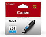 Canon CLI-251 Cyan Ink Tank (6514B001)