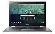 "Acer® Chromebook Spin 15 Laptop, 15.6"" Full HD Touch Screen, Intel® Pentium® N4200, 4GB Memory, 64GB Flash Storage, Google™ Chrome OS"