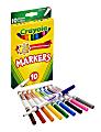 Crayola® Fine Line Markers, Assorted Classic Classpack®, Pack Of 10