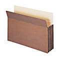 """Smead® Expanding File Pockets, 3 1/2"""" Expansion, 9 1/2"""" x 14 3/4"""", 30% Recycled, Redrope, Pack Of 25"""