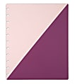 TUL® Discbound Notebook Covers, Letter Size, Pink/Purple, Pack of 2 Covers