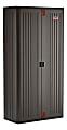 Suncast Commercial Mega Tall Storage Cabinet, 4 Shelves, Gray