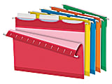 Pendaflex® Ready-Tab™ Reinforced Hanging Folders, With Lift Tab Technology, 1/3 Cut, Letter Size, Assorted Colors, Pack Of 25