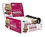 OPTIMUM NUTRITION Protein Wafers Protein Snack Chocolate Raspberry, 1.48 oz, 9 Count