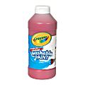 Crayola® Washable Paint, Red, 16 Oz
