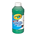 Crayola® Washable Paint, Green, 16 Oz
