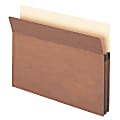 """Smead® Expanding File Pockets, Redrope, 1 3/4"""" Expansion, Letter Size, 30% Recycled, Redrope, Pack Of 25"""
