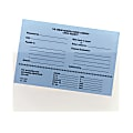 """Smead® Self-Adhesive Poly Document Pockets, 9"""" x 5 9/16"""", Clear, Box Of 100"""