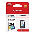 Canon CL-261 XL Color Ink Cartridge