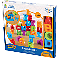 Learning Resources Letter Blocks - Theme/Subject: Learning - Skill Learning: Visual, Letter Recognition, Alphabetical Order, Color Identification, Word Building, Fine Motor, Eye-hand Coordination, Tactile Discrimination - 2 Year & Up - Multi