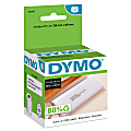 """DYMO® 30251 LabelWriter® Address Labels, 30251, 1 1/8"""" x 3 1/2"""", White, 130 Labels Per Roll, Pack Of 2 Rolls"""
