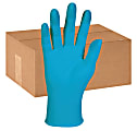 Kimberly-Clark® KleenGuard G10 Disposable Powder-Free Nitrile Gloves, Large, Blue, Box Of 100 Gloves