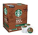 Starbucks® Pike Place Single-Serve Coffee K-Cup®, Decaffeinated, Carton Of 24