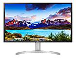 """LG 32"""" 4K UHD LED Monitor, HDR 600, VESA Mount, 32UL750-W"""