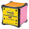 "Post-it® Notes Full-Coverage Cube Dispenser, 3 13/16"" x 3 13/16"", Black"