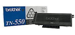 Brother® TN-550 Black Toner Cartridge