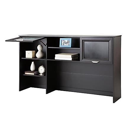 """Realspace® Magellan 58""""W Hutch For Corner Desk, Espresso"""